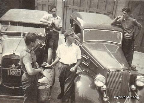 Playing around 1936