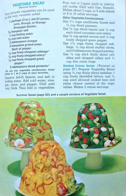 Jell-O Vegetable Salad