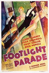 Footlight Parade original poster