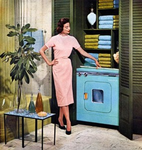 GE Washer-Dryer ad