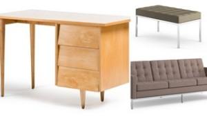 Florence Knoll-designed furniture