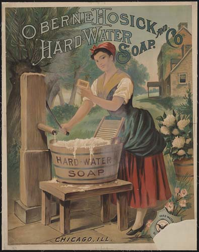 Hard Soap Ad c. 1886