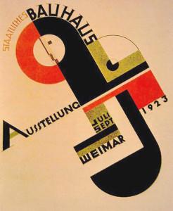 Bauhaus poster from 1923