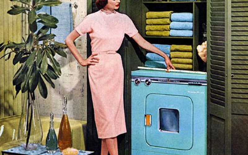 BLUE MONDAY…OR ALL PRAISE THE WASHING MACHINE!