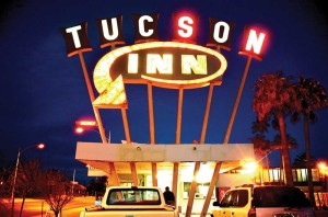 Tucson Inn at night
