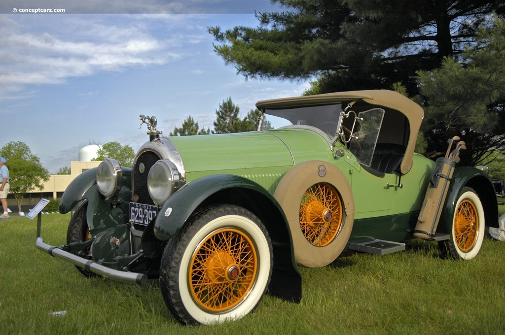 1923 Kissel - green with golf club carrier