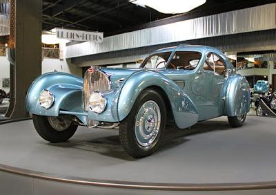 Silver-Blue 1936 Bugatti Type 57S
