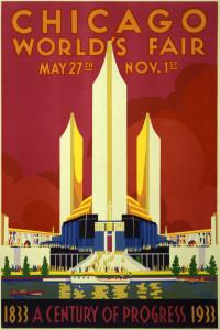 1933-34 Chicago World's Fair poster