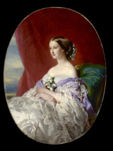 Empress Eugenie in Mauve