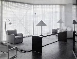 House of Tomorrow Living Room 1933