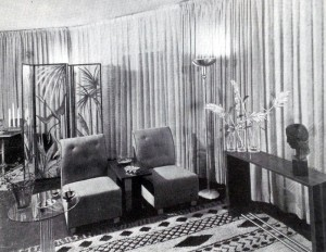 Living Room redecorated for 1934