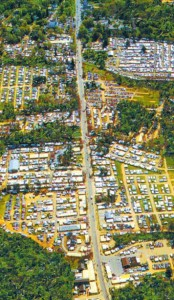 Brimfield aerial view