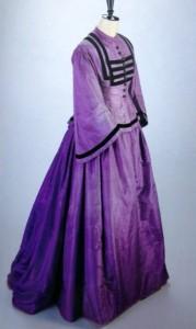 Mauve Victorian Dress