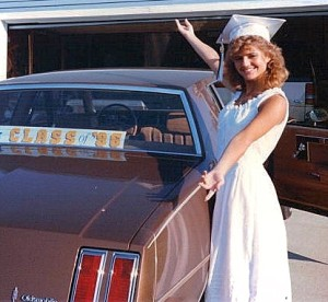 Me the day of my HS graduation in 1986