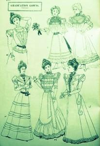 Graduation Gowns 1898