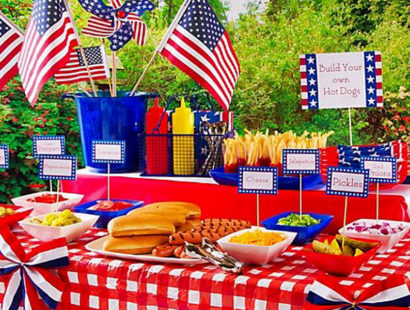 JULY 4TH EATS…CIRCA 1776