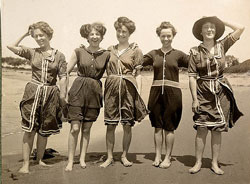Bathing suits 1908