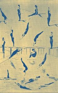 Annette's diving skills