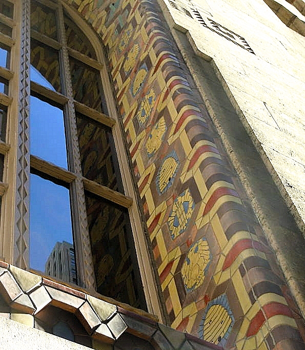 Exterior window motifs