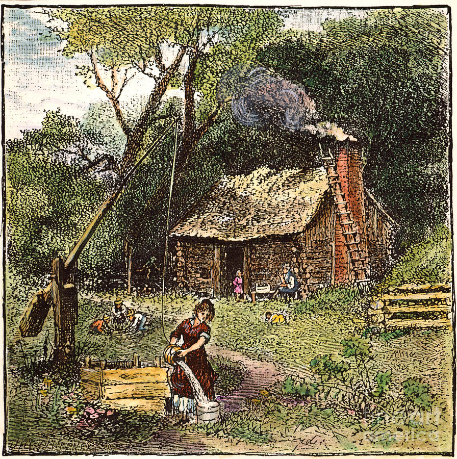 colonial homestead