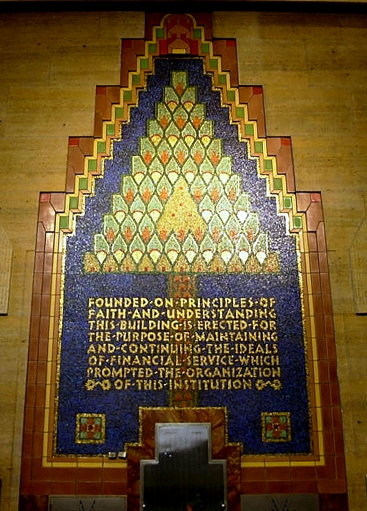 Mosaic of the Union Trust creed