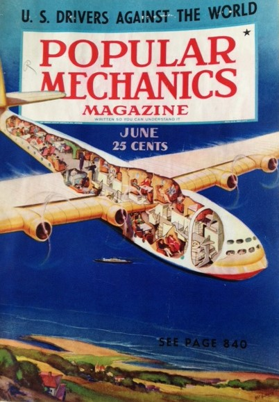Cover Popular Mechanics June 1938