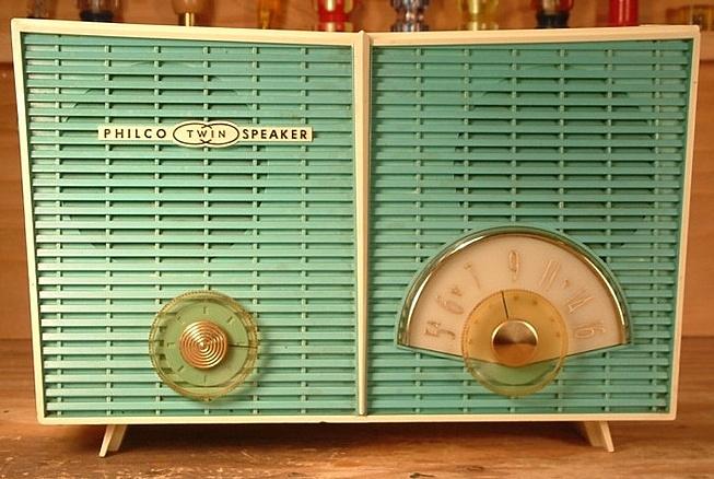 Philco Twin Speaker