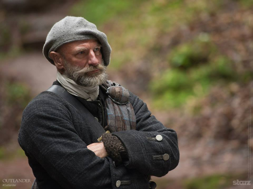 Dougal MacKenzie, Jamie's uncle. (I'm kinda crushing on him.)