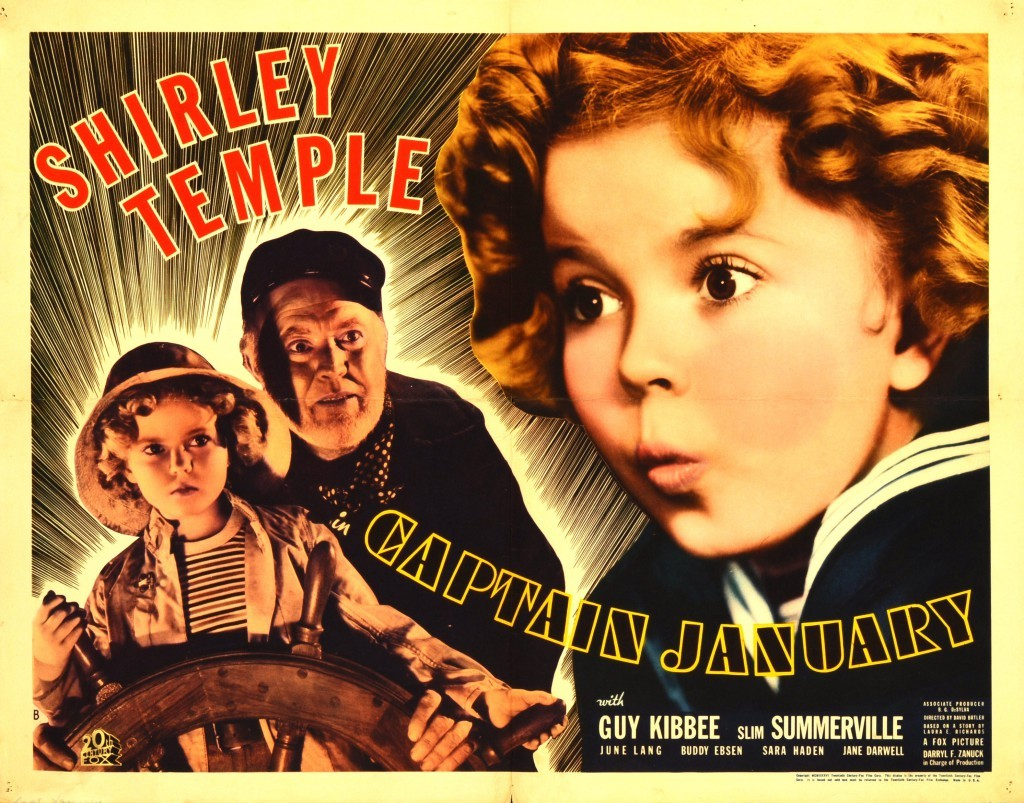 Captain January starring Shirley Temple & Guy Kibbee