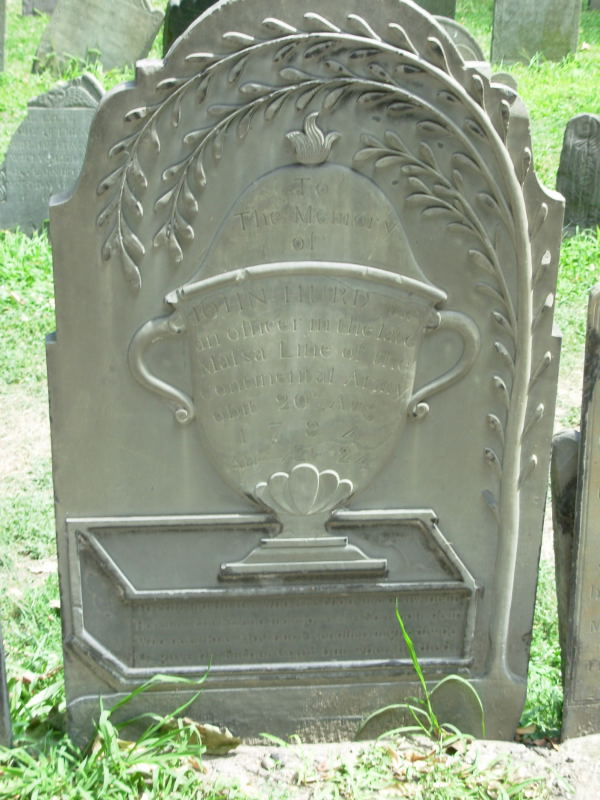 Willow and urn marker