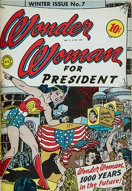 Wonder Woman for President cover