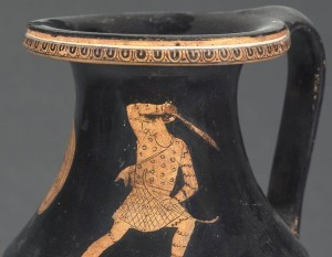 Greek depiction of Amazon warrior