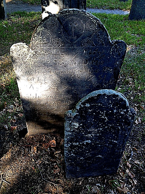 Crude Death Head marker