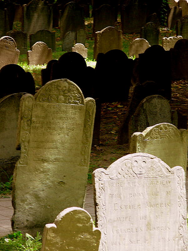 Granary Burying Ground, Park Street, Boston MA