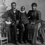 black family victorian