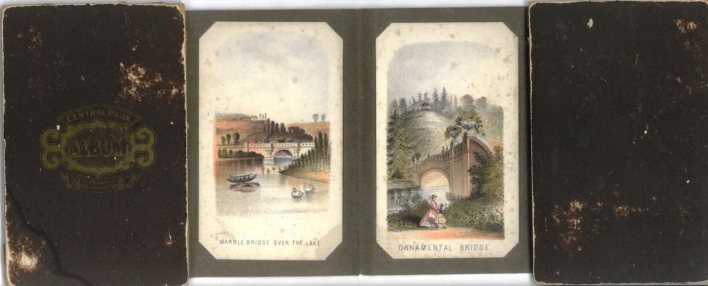 Prang album cards