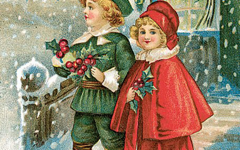 CHRISTMAS CARDS: HOLIDAY ART
