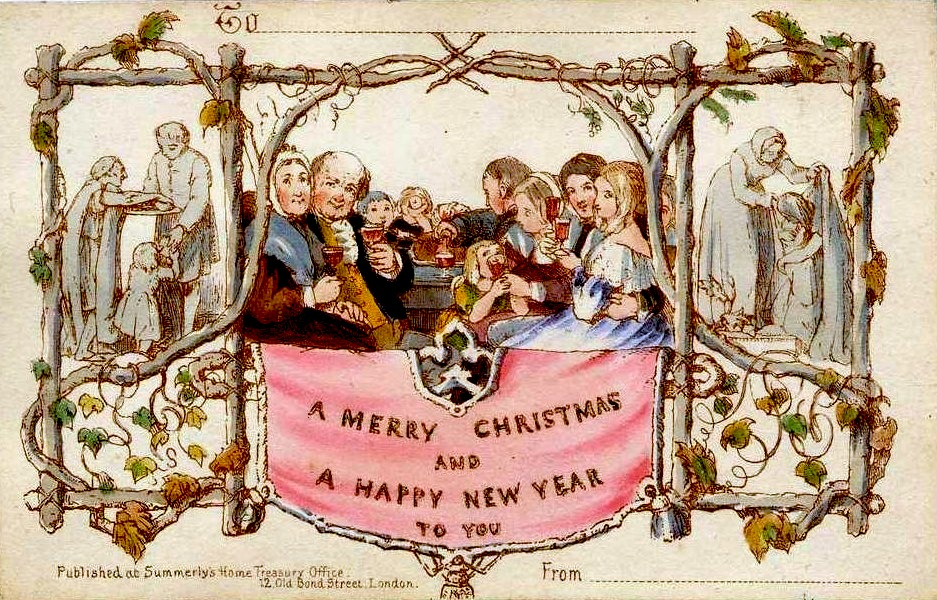 CHRISTMAS CARDS: HOLIDAY ART - My History Fix