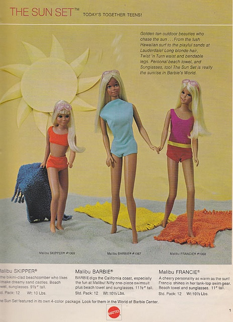 Malibu Barbie ad