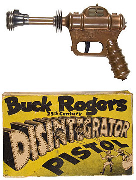Buck Rogers toy