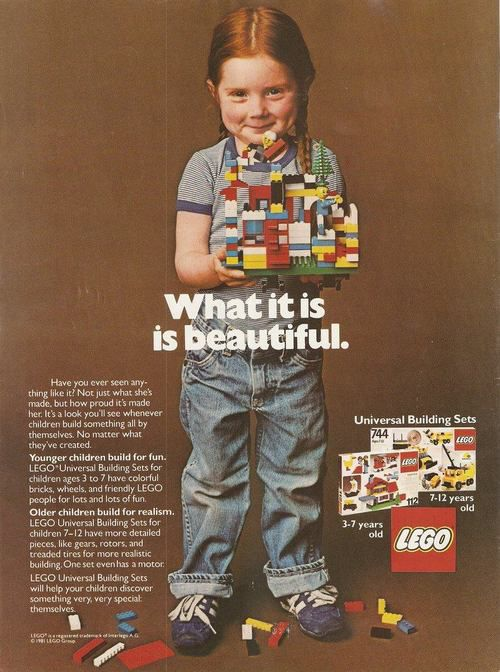 Lego ad 1970s