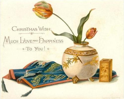 Prang christmas card