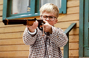 A Christmas Story Red Ryder BB gun