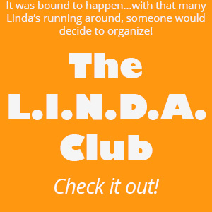 The L.I.N.D.A. Club graphic