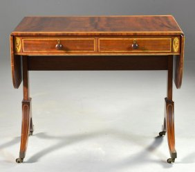 Federal-style Sofa Table.
