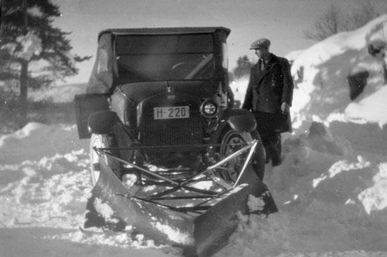 Car plow