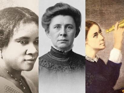 Madam C.J. Walker, Ida Tarbull, Maria Mitchell