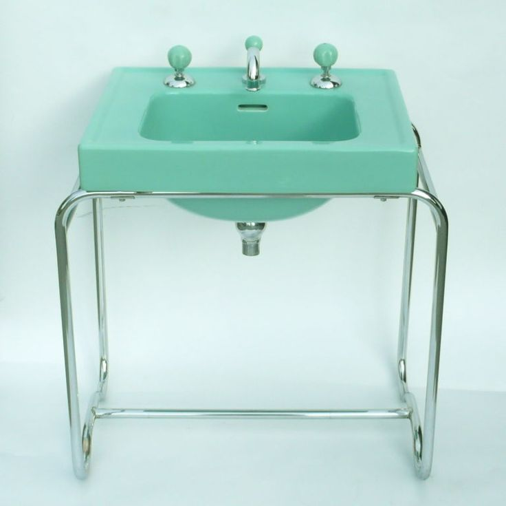 Art Deco sink