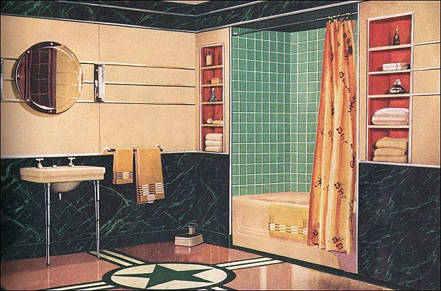 SORRY HGTV…THESE ARE MY KIND OF BATHROOMS!
