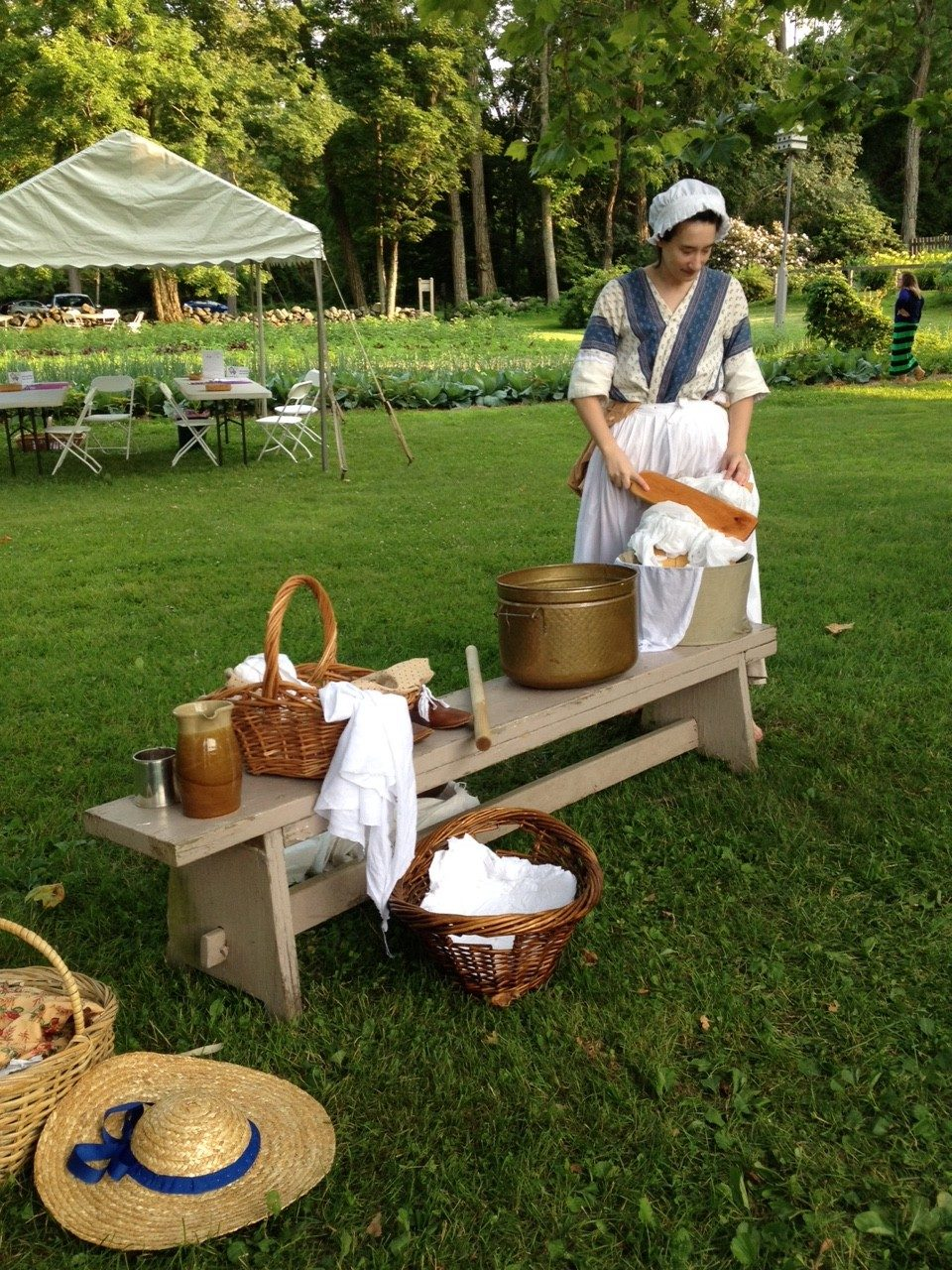 Laundry at the Old Manse